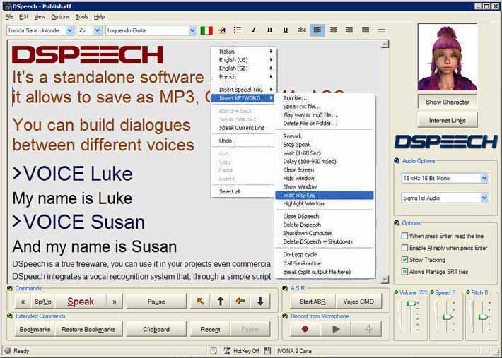 Dimio's Software